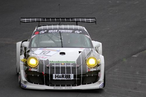 Krumbach erneut mit Porsche  auf dem Podium