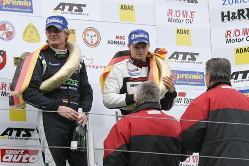 VLN-Gesamtsieg für Jochen Krumbach und Marc Lieb
