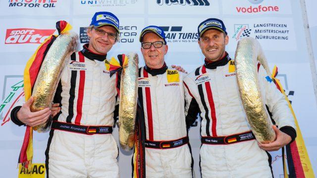 Grandioser Gesamtsieg für WTM-Racing bei VLN 3